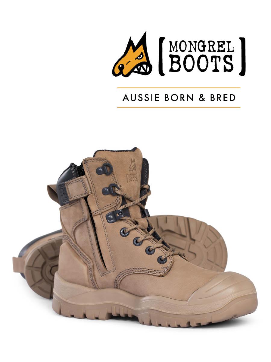 Unique safety boots