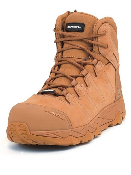 Mack Octane zip Safety Boots honey